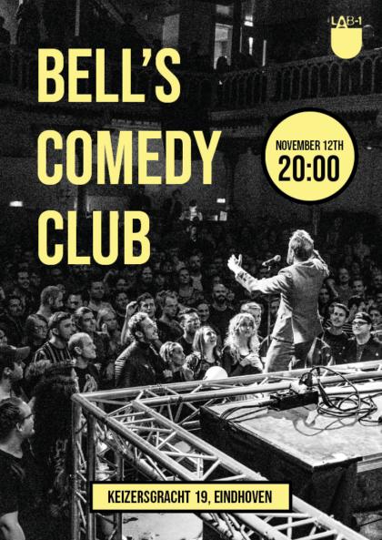 Bell's Comedy Club ENGLISH (12 NOV)