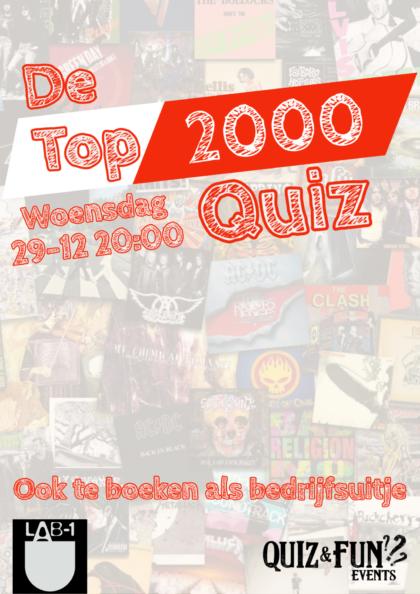 Pubquiz | De Top2000 editie